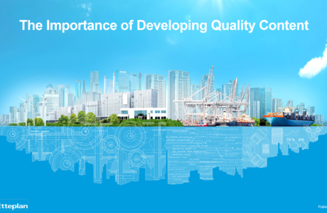 Webinar: The Importance of Developing Quality Content