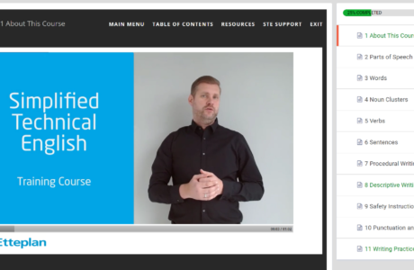 Etteplan releases a first ever global e-learning course on Simplified Technical English